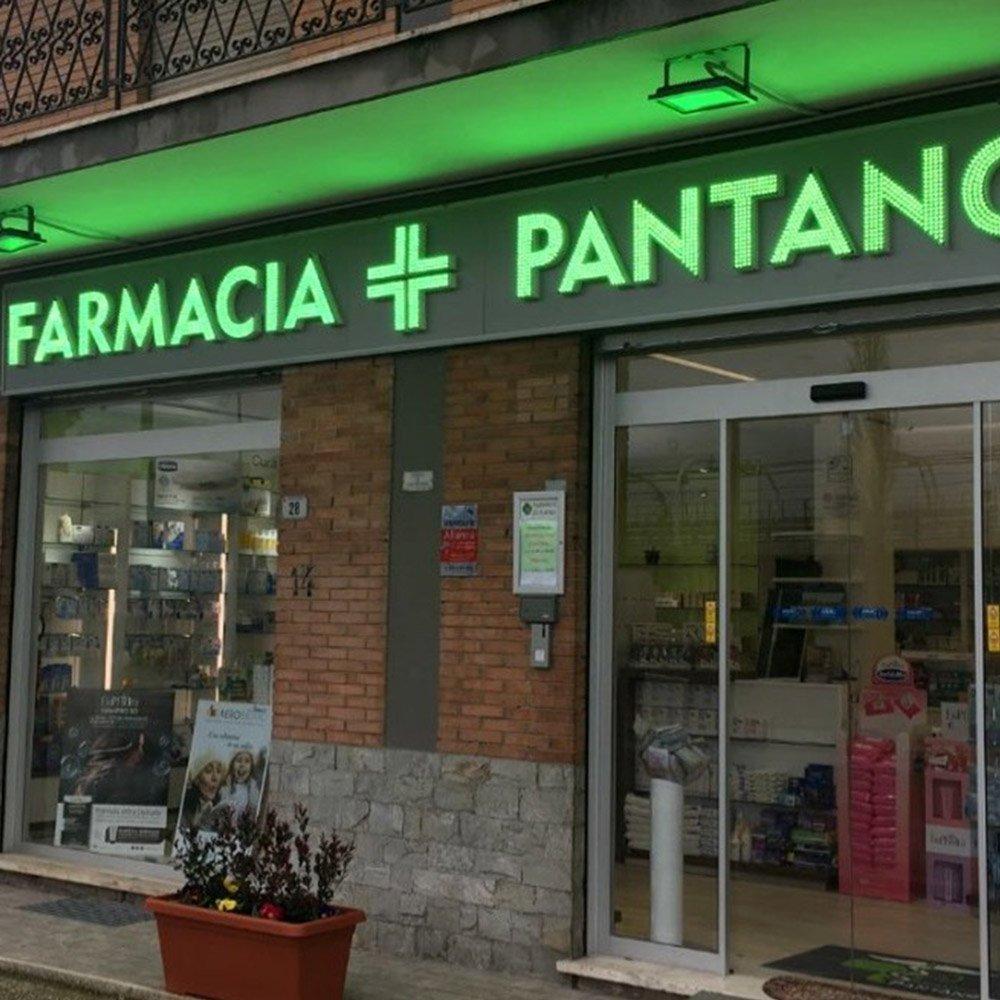 Insegne a Led Pantano