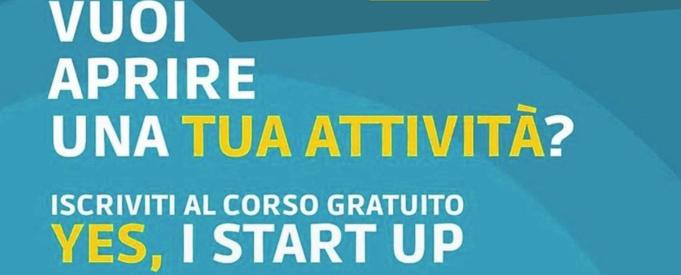 Corso gratuito per formazione imprenditoriale Yes, I Start Up